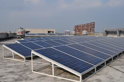 易事特500kwp工业厂房屋顶分布式光伏发电站荣获国家