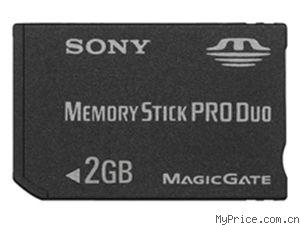 索尼 记忆棒 PRO Duo MSX-M2GS/X(2GB)