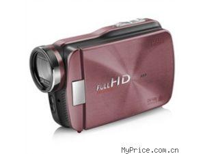 海尔 (Haier) DV-V80 全高清摄像机 宝石粉(1080P全...
