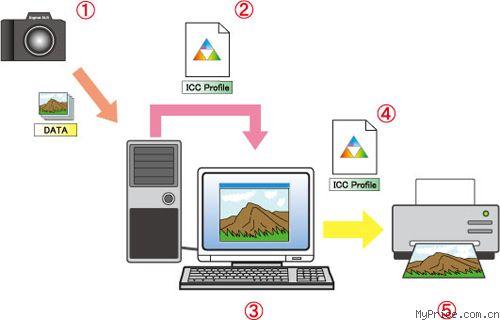 使用 icc 配置文件 - 佳能 eos 50d kit(ef-s17-85